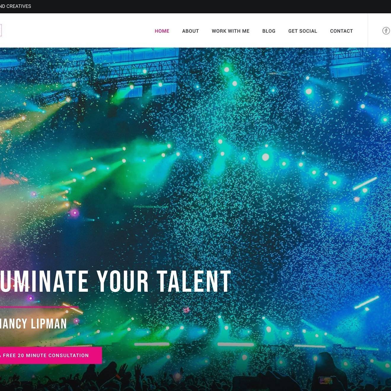 Wingwoman Site by The Creative Solutionist