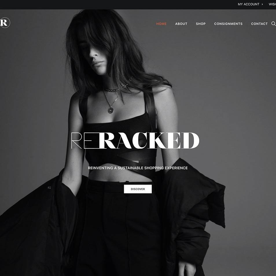 RERACKED Site by The Creative Solutionist