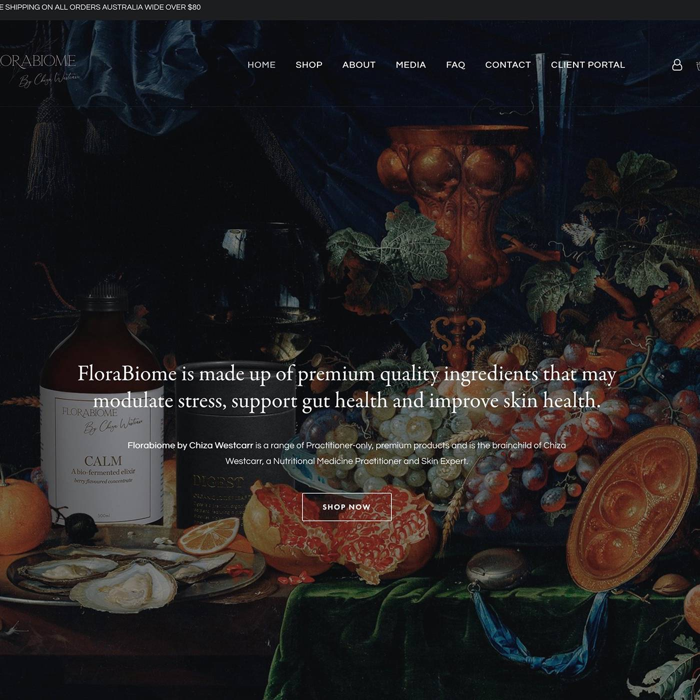 Flora-Biome Site by The Creative Solutionist